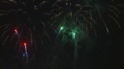 HD2009-7-3-1 fireworks Stock Video Footage