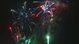 HD2009-7-3-1 fireworks Stock Video Footage