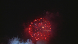 HD2009-7-3-7 fireworks Stock Video Footage