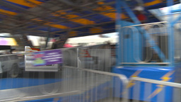 HD2009-7-3-16 midway rides kids Footage