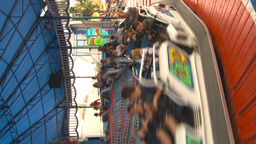 HD2009-7-3-30 midway snoexpress ride vertical Footage