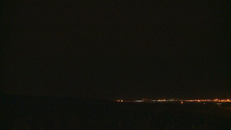 HD2009-7-7-7 lightning over city lots Stock Video Footage