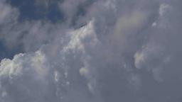 HD2009-7-8-17 cloudscape TL Stock Video Footage