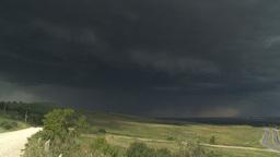 HD2009-7-8-19 thunderstorm lightning Stock Video Footage