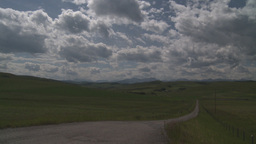HD2009-7-10-2RC foothills and clouds Footage