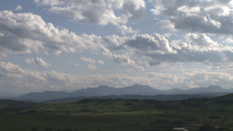 HD2009-7-10-26RC clouds and foothills Stock Video Footage