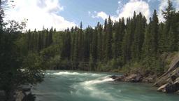 HD2009-7-13-8 kayak river TL Stock Video Footage