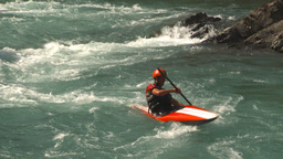 HD2009-7-13-12 whitewater raft river Footage