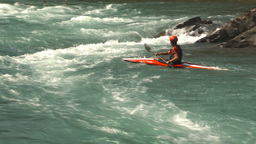 HD2009-7-13-12 whitewater raft river Stock Video Footage