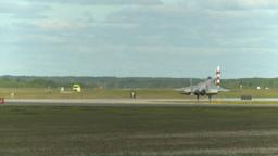 HD2009-6-1-2 F15 Eagle landing Stock Video Footage