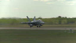 HD2009-6-1-4 F18 hornet takeoff Footage