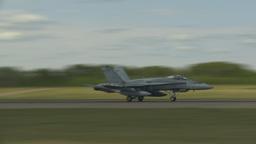 HD2009-6-1-4 F18 hornet takeoff Stock Video Footage