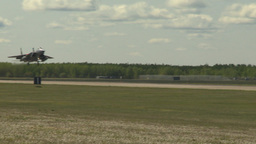 HD2009-6-1-14 F15 Eagle landing Stock Video Footage