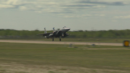 HD2009-6-1-14 F15 Eagle landing Footage