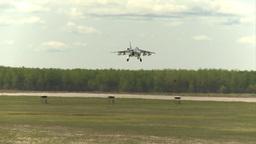 HD2009-6-1-24 slomo Alphajet landing Footage