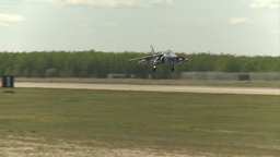 HD2009-6-1-24 slomo Alphajet landing Stock Video Footage