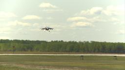HD2009-6-1-26 slomo Alphajet landing Footage