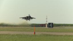 HD2009-6-2-1 F15 Eagle takeoff Stock Video Footage