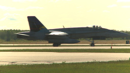 HD2009-6-2-5 Hornet taxi Stock Video Footage