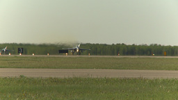 HD2009-6-2-15 F18 Hornet takeoff Stock Video Footage