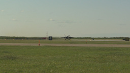 HD2009-6-2-17 F18 Hornet takeoff Stock Video Footage