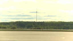 HD2009-6-2-28 F16 Falcon taxi agressor Stock Video Footage