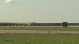 HD2009-6-2-32 F16 Falcon takeoff Stock Video Footage
