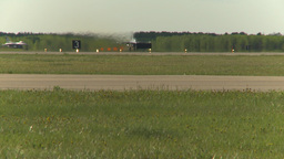 HD2009-6-2-40 F16 Falcon takeoff roll only Stock Video Footage