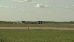 HD2009-6-2-42 F16 Falcon takeoff Stock Video Footage