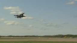 HD2009-6-2-42 F16 Falcon takeoff Stock Video Footage