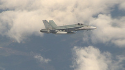 HD2009-6-3-6 aerial F18s Stock Video Footage