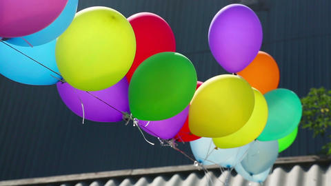 Balloons Footage