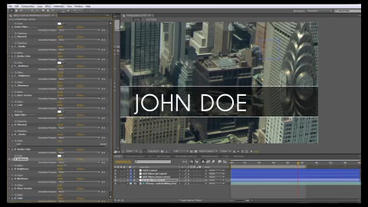 lower thirds toolkit After Effects Project