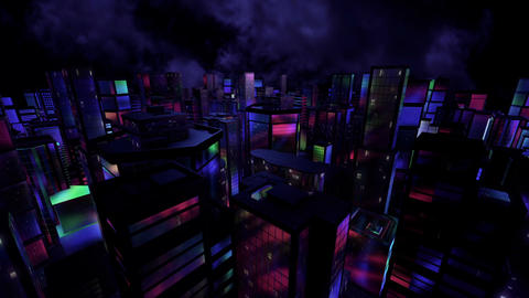 Night city Animation