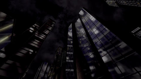 Night City stock footage