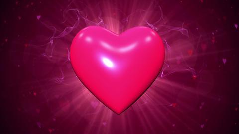 Pulsating heart Animation