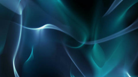 Blue silk abstract background Animation