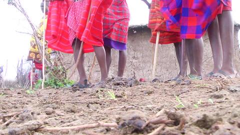 Masai Dancing Footage