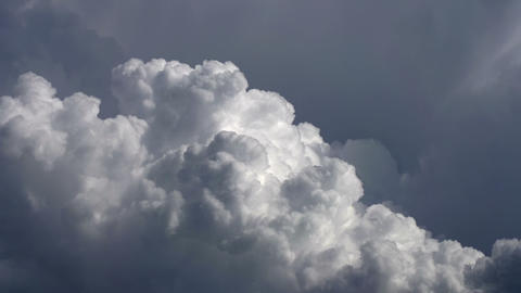 Boiling Clouds stock footage