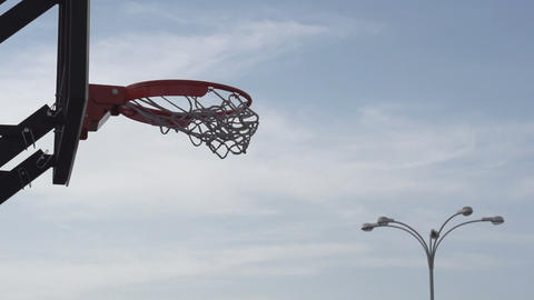 Street Basketball HD Footage