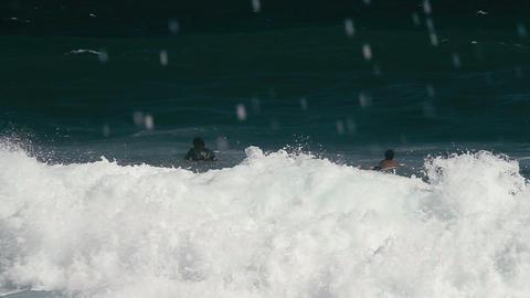 1080p, Bodyboarding at the Keokea Bay Maui, Hawaii Footage