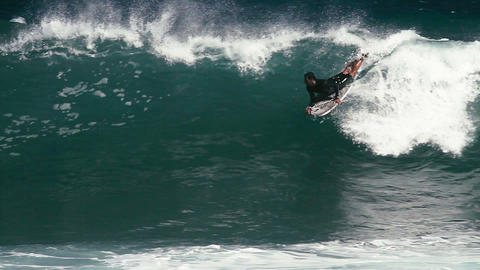 1080p, Bodyboarding at the Keokea Bay Maui, Hawaii Footage