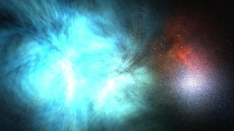 Space Flight Motion Background stock footage