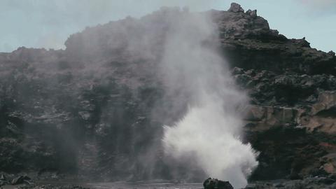 1080p, Shore Line, Coast Line at Nakalele Blowhole Footage