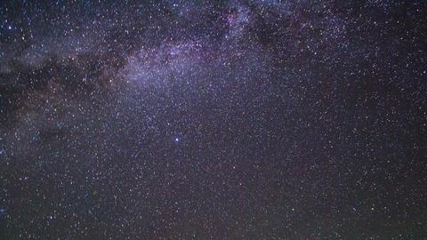 In the wake of the Milky Way. Pamir, Tajikistan Footage