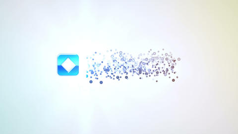 Bright Optical Flares Light Logo Particles Opener After Effects Template