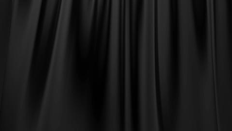 Silk satin elegant flowing background loop black Animation