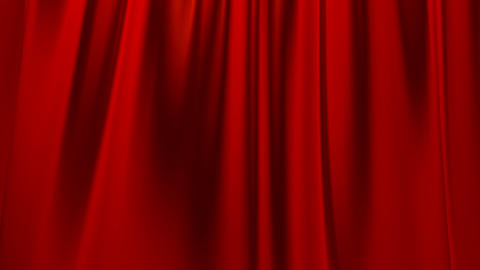 Silk satin elegant flowing background loop red Animation