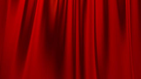 Silk Satin Elegant Flowing Background Loop Red stock footage