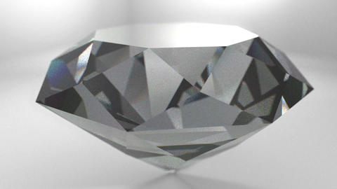 Diamond gemstone gem stone spinning wedding backgr Animation
